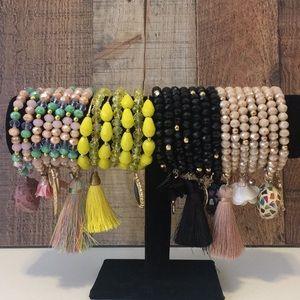 Jewelry - Set of seven bracelets *ONE DAY SALE *